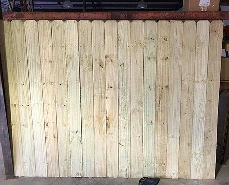 Wooden Fence Panels - Home 3E Erosion Wholesale Inc.