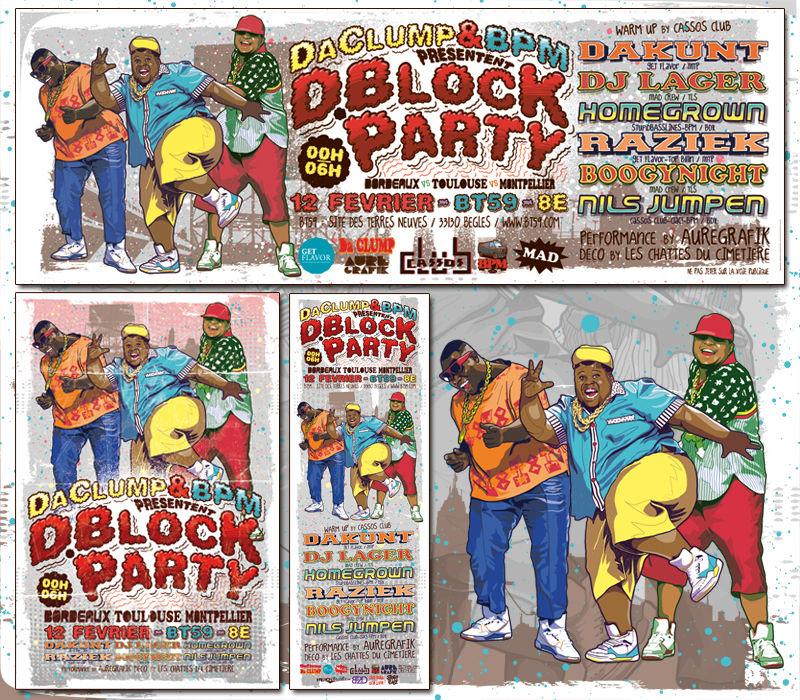 D.BLOCK PARTY