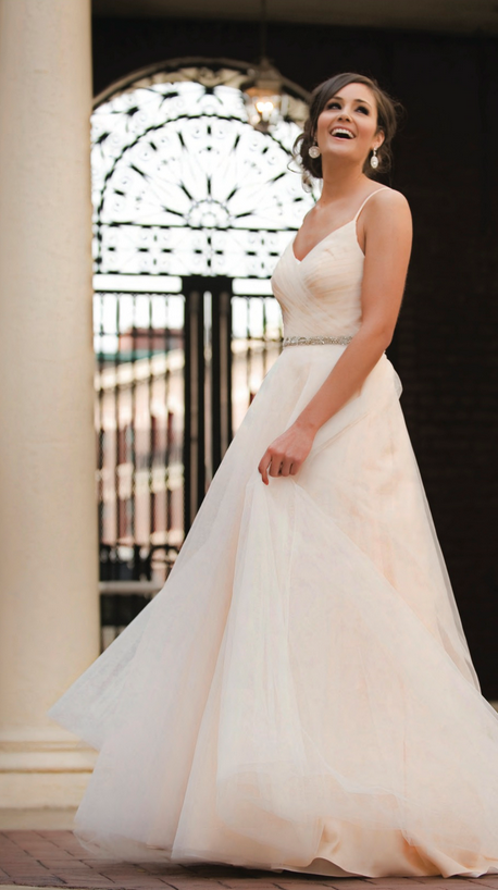 We Just LOVE This New Ivy Aster Wedding Dress Duchess Its Shown In Blush But Available Other Colors Always Wows Us