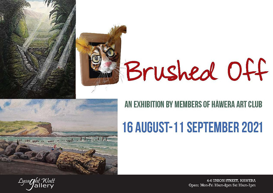 Poster - Brushed Off - Hawera Art Club LWG 2021.jpg