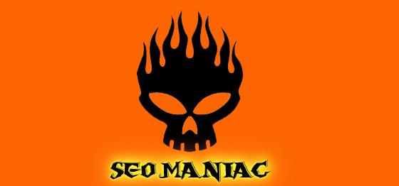 SEO Maniac Social SEO Consultant Logo