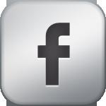 Facebook Metallic