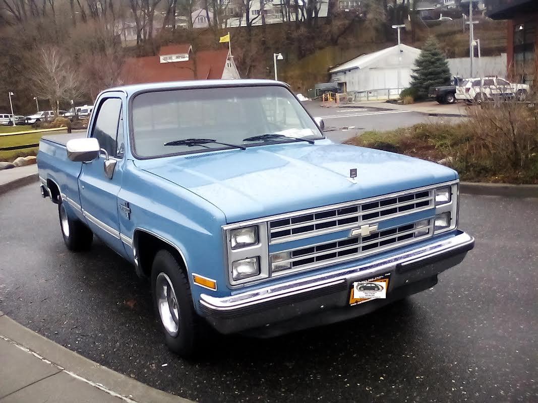 "What\'s It Worth? 1987 Chevrolet Silverado Pickup ..Chevy\'s ""Cowboy ..."