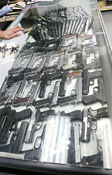 .45 Caliber Pistols