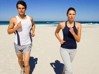 Cuidados para correr na praia