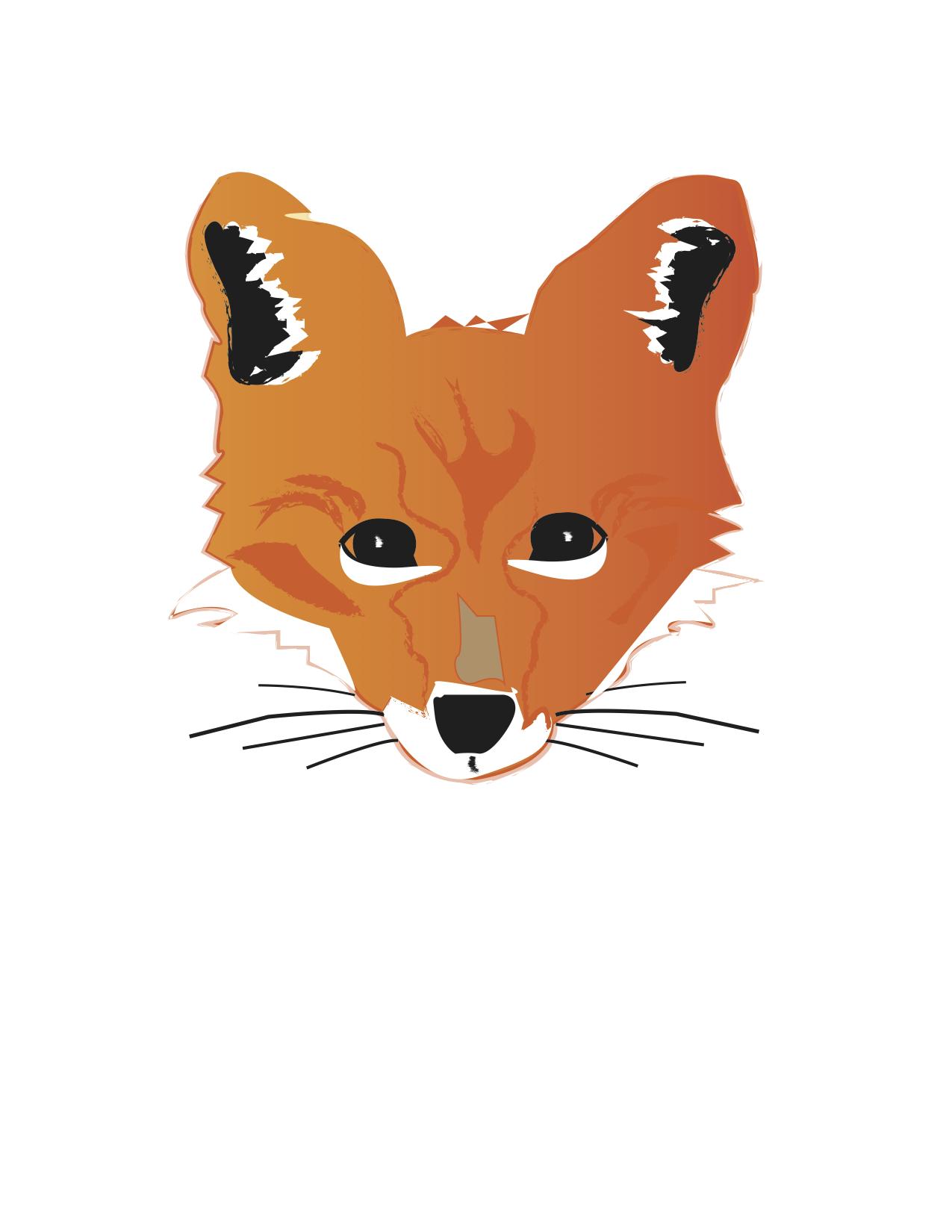 Fox Head Illustration  Fox Head Illustration
