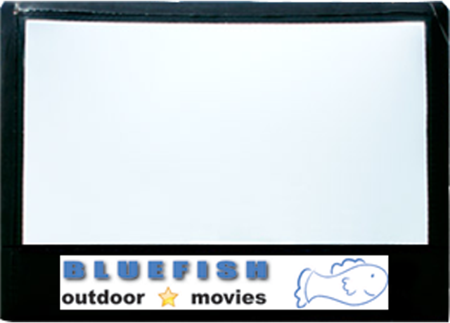bluefish outdoor movies inflatable outdoor movie screen