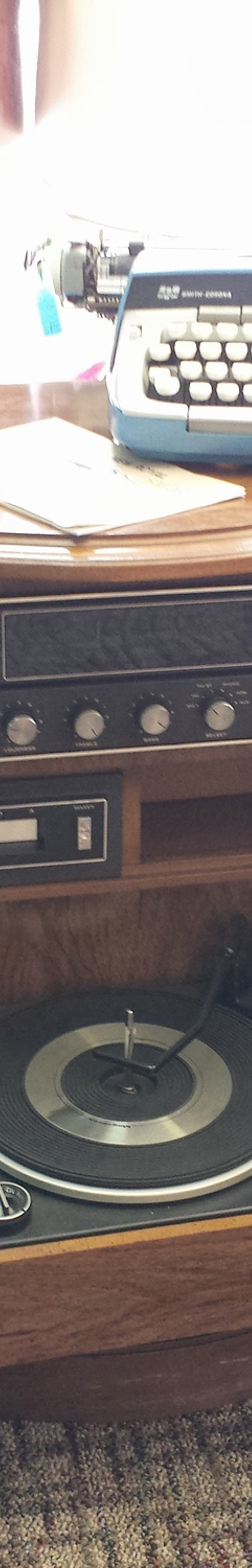 Vintage Audio Console Radios And Record Players