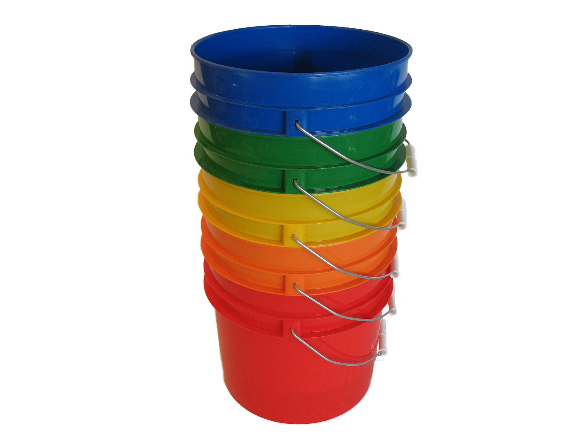 1 Gallon Plastic Buckets