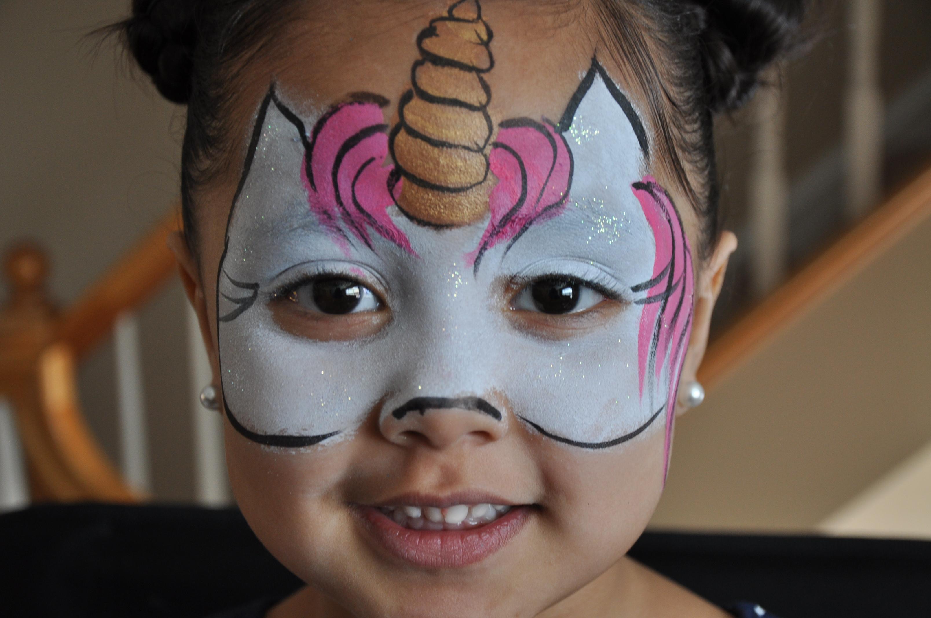 face paint cat costume