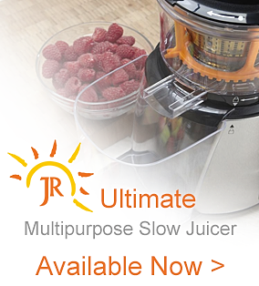 JR Ultra Juicer I JR Ultra 8000 Juicer, Next Gen, Whole Slow Juicer