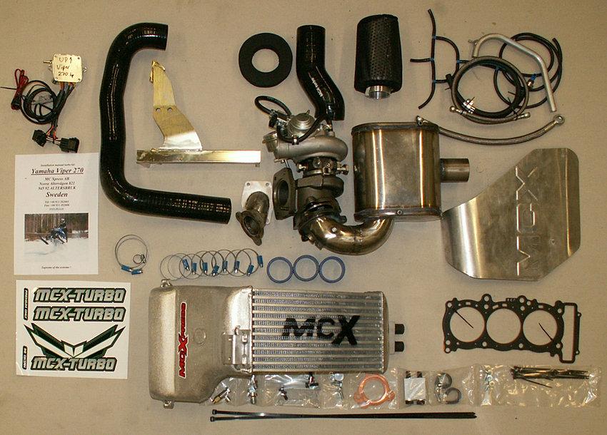Yamaha Apex Turbo Hp