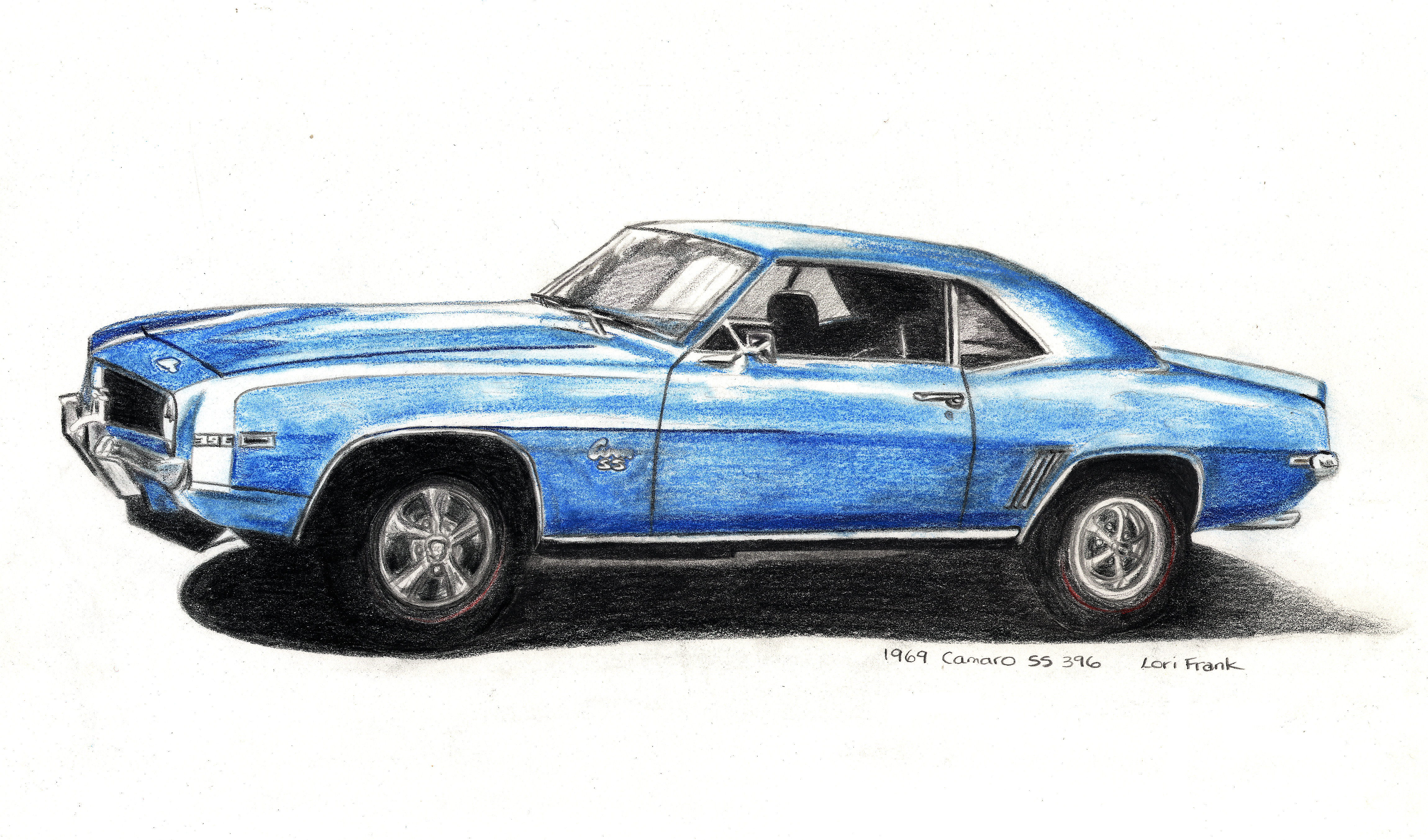 Lori Frank, Edmonton Artist | 1969 Camaro SS, Lori Frank ...