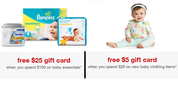 Target.com: Spend $100 on Baby Essentials Get a $25 Target Gift ...