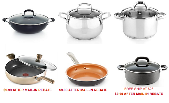Macy's: Pans Only $9.99 after Mail-in Rebate! (Reg. $20+) ...