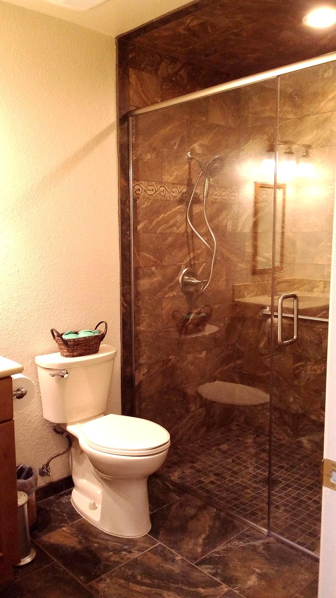 Coordinating Bathroom Floor And Wall Tile : Mr fix it of sierra vista remodeling repair restoration