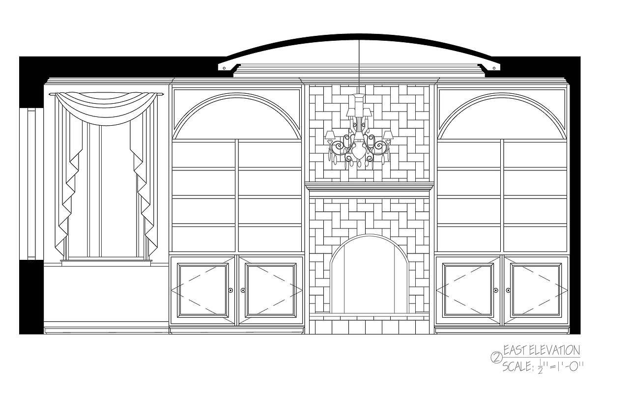 B faircloth designs created by faircb08 based on for Living room elevation