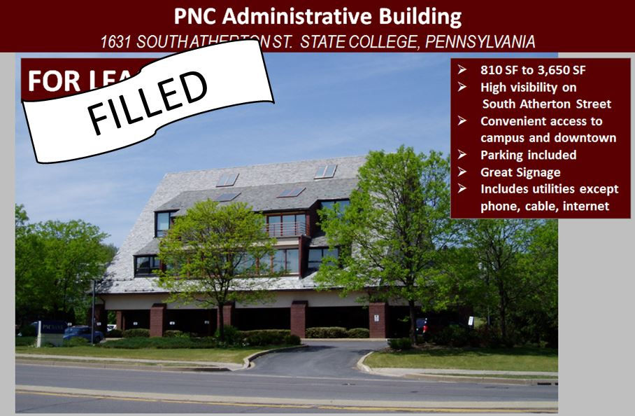 Commercial Property For Lease In State College Pa