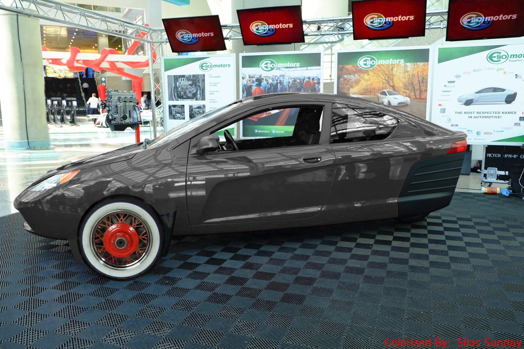 Cars That Start With A C >> Elio Motors | P5 Black