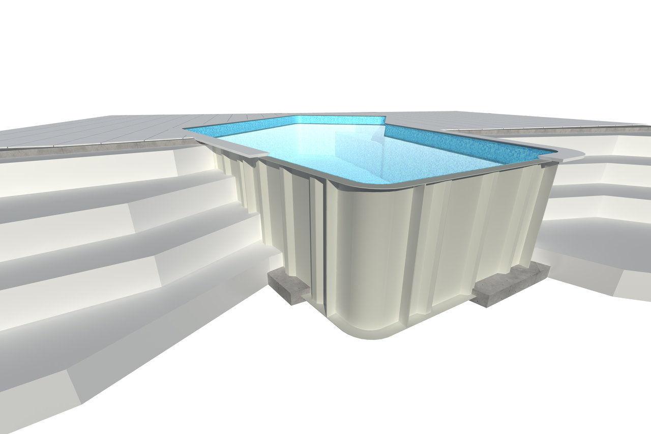 Modular Swimming Pools Modular Pools Kit Pools