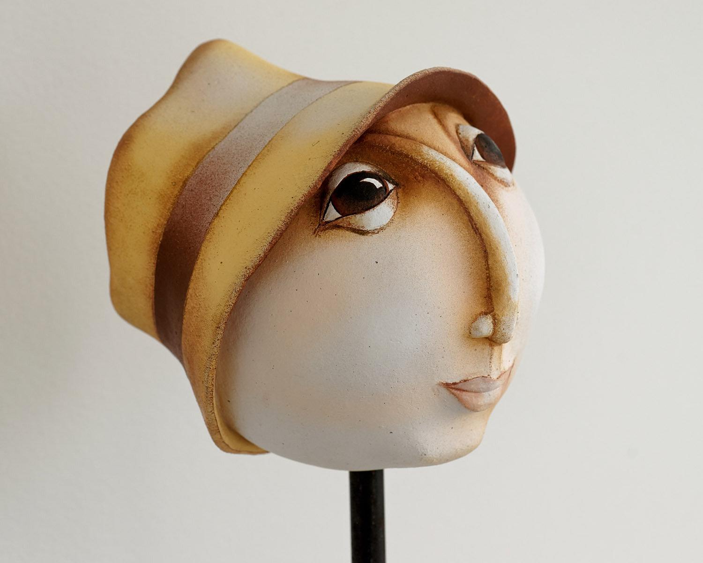 Sandra grimaud sculptures c ramique pi ces unique en terre - Chapeau cheminee terre cuite ...