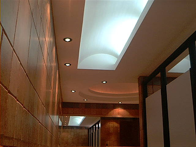 Prieto gaeta arquitecto m xico d f plaf n luz for Plafones de pared para salon