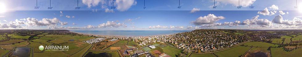 Panoramique drone azimuté