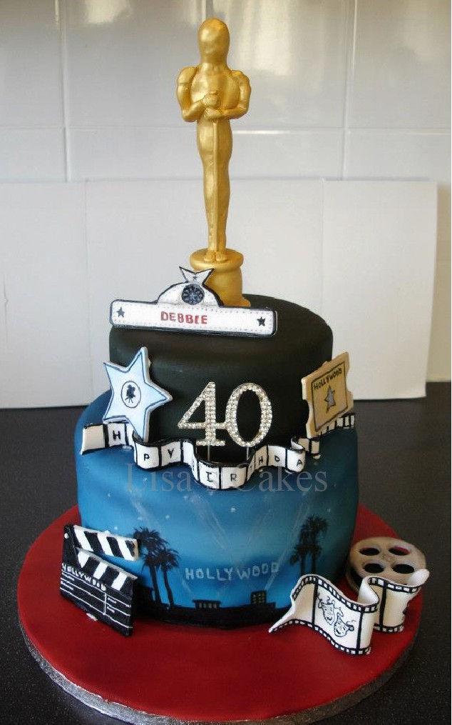 Hollywood Birthday Cake