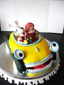 Roger Rabbit 3d Cake