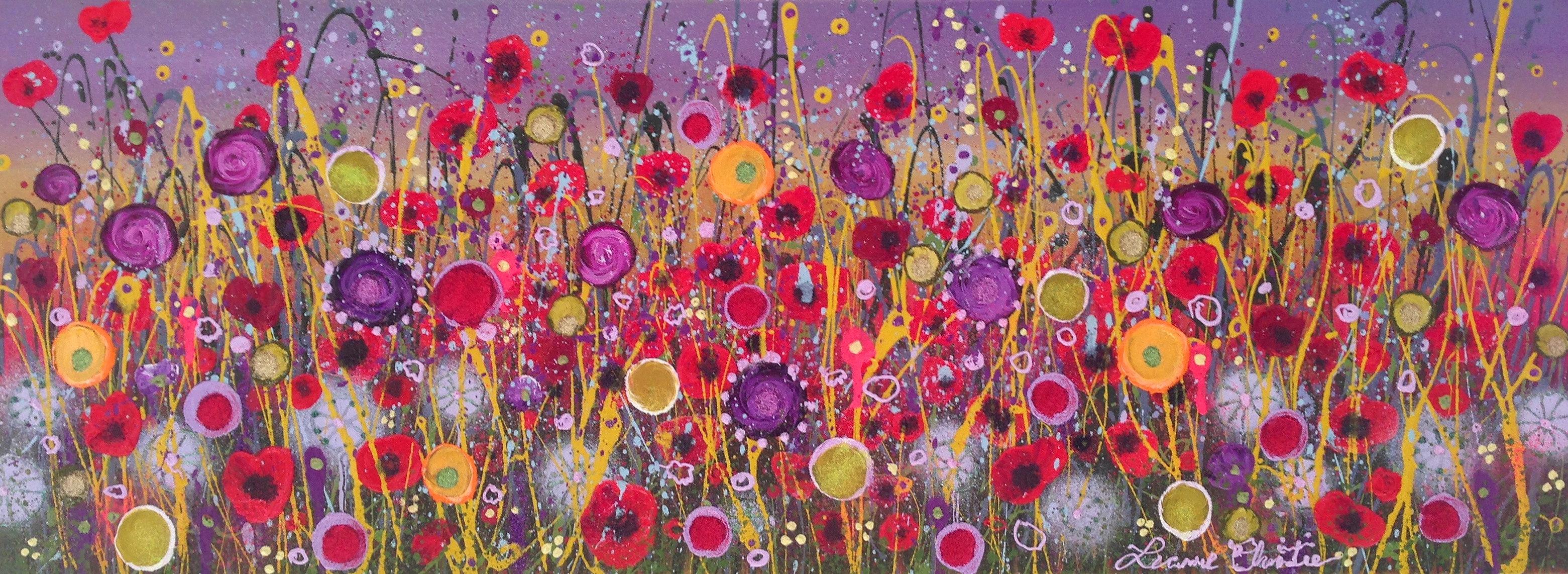 Leanne Christie Devon Flower Artist   Flowers... Wandering Wild And ... Artist
