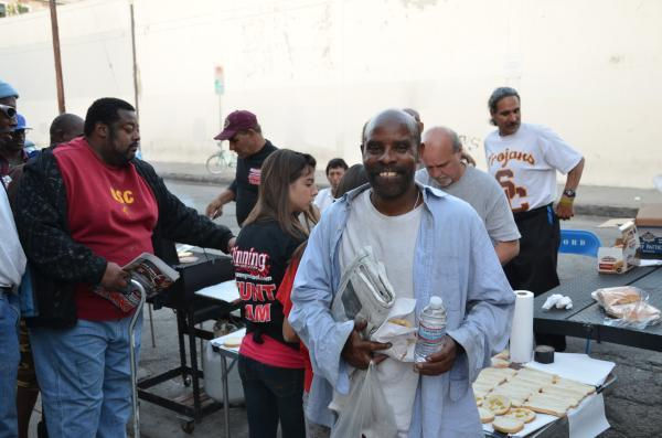 Feeding the homeless 2011