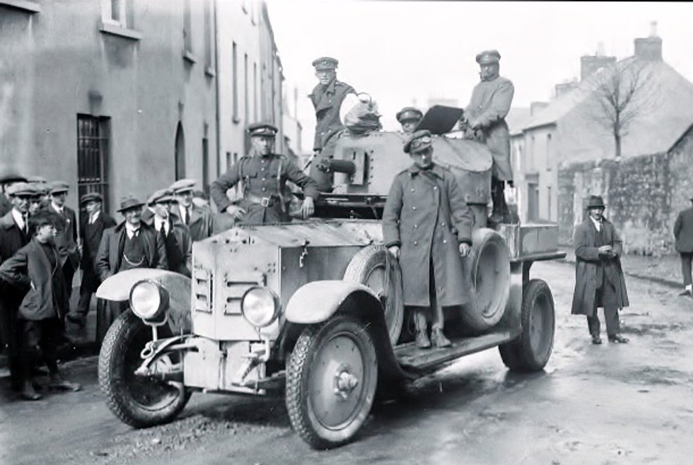 "The ""Ballinalee"" Armoured Car"