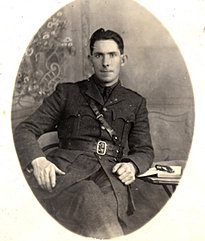 Seán Mac Eoin in military uniform