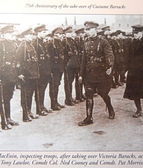 Inspection of troops