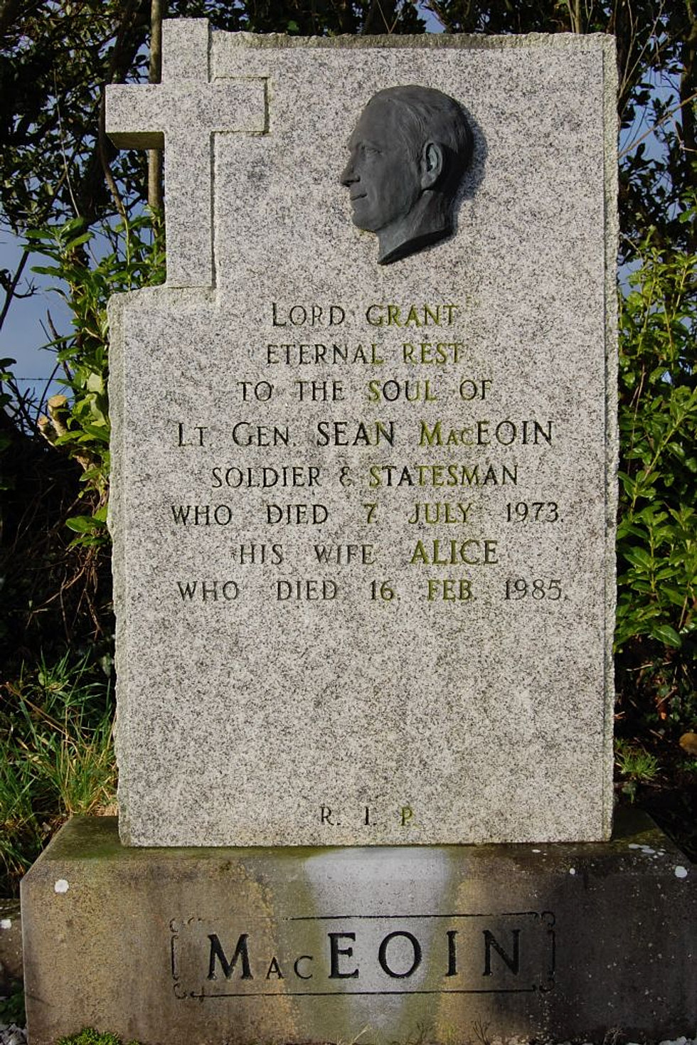 Resting Place of Seán Mac Eoin