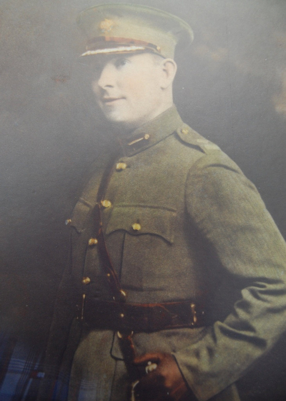Portrait of Seán Mac Eoin