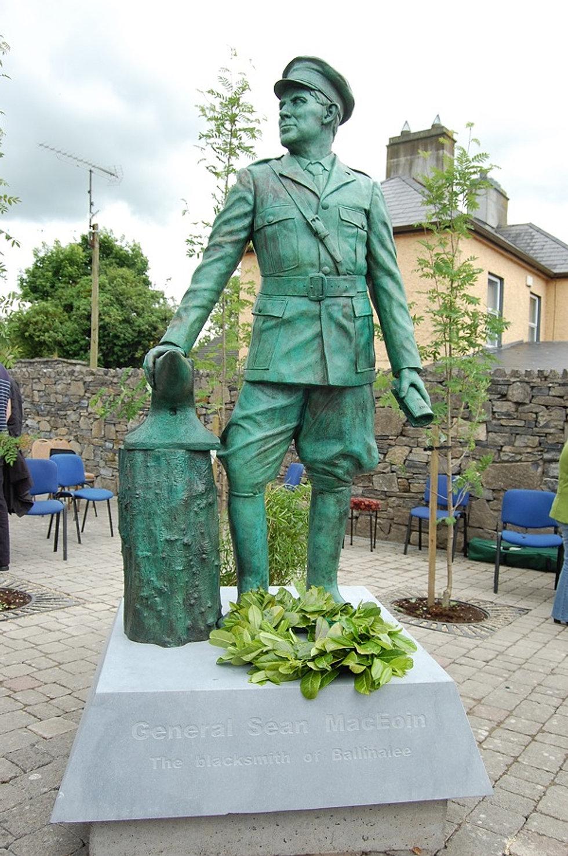 Statue of General Seán Mac Eoin