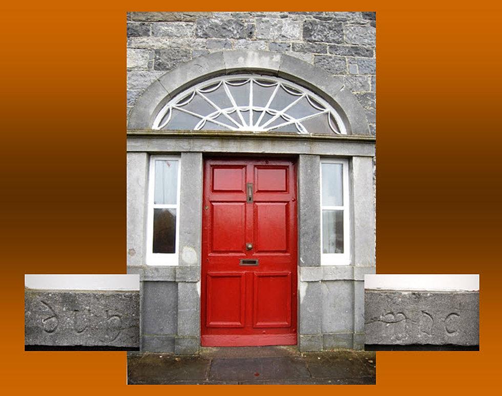 Door of Dun Mac House