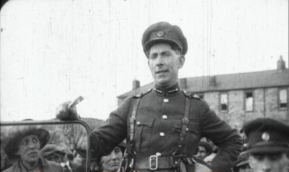 Mac Eoin in Costume Barracks 1921
