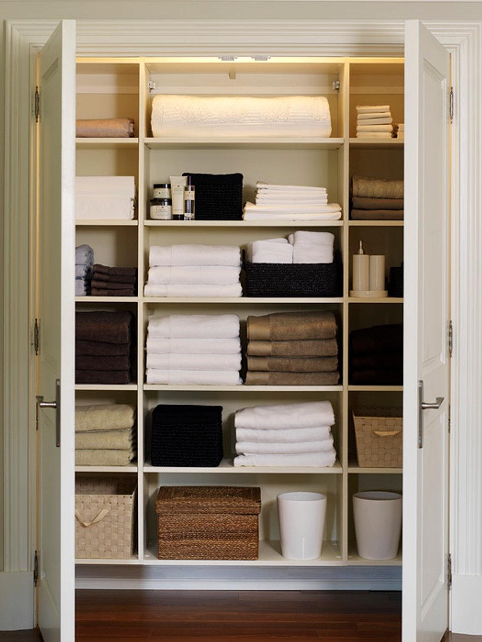 Как сделать бельевой шкаф
