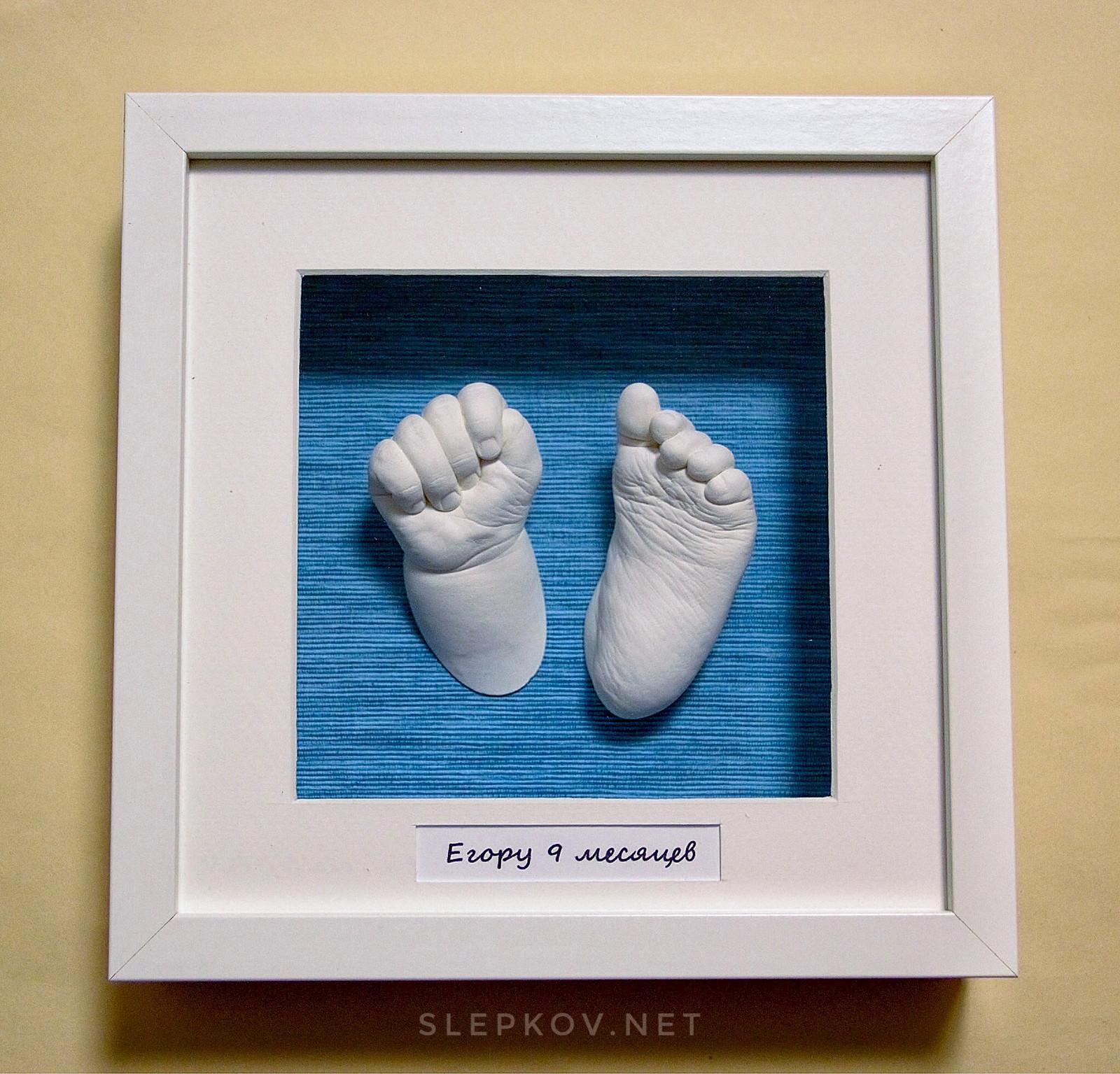 3 d слепок ручки и ножки ребенка своими руками 23