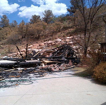 Fire, damage, colorado springs, waldo canyon, black forest