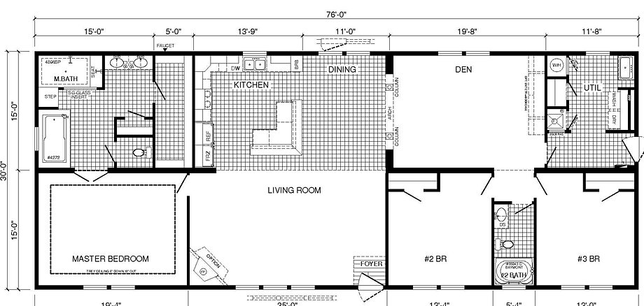 Charleston home center charlestons premier manufactured for Legacy homes floor plans