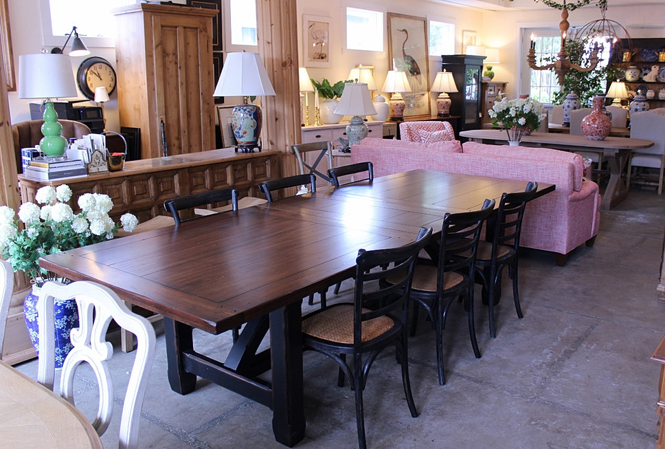Large Rustic Dining Table. Furniture Store   Home Decor   Red Bank  NJ