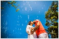 Pre wedding com ceu azul