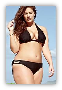 Resultado de imagen de bikini caderas anchas