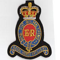 RHA Embroided Badge