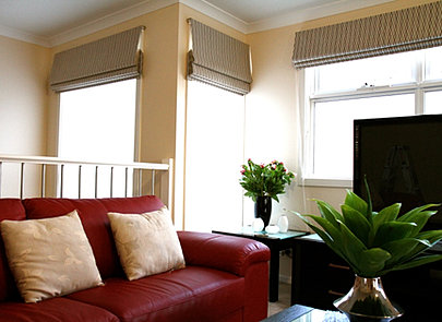 Roman Blinds Melbourne Abele Curtains And Blinds