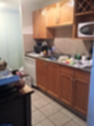 Cluttered Countertop