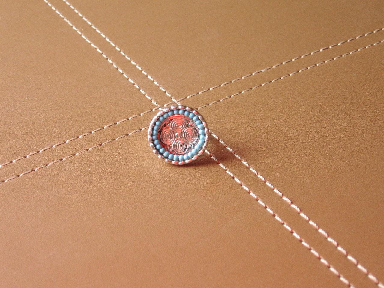 circle turquoise ring 2